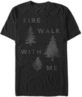 Fifth Sun Black Twin Peaks 'Fire Walk With Me' Tee - Men's Regular