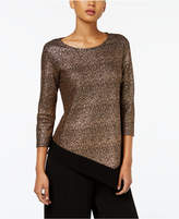 MSK Asymmetrical Metallic Top