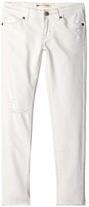 Levi's Kids Kids 710 Color Jeans (Little Kids) (White) Girl's Jeans