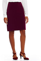 Alex Marie Ann Twill Crepe Suiting Skirt