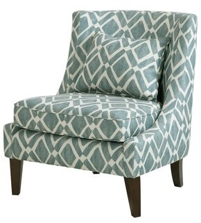 Chaidez Slipper Chair Charlton Home Upholstery Color: Gray