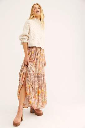 Free People Spell And The Gypsy Collective Amethyst Maxi Skirt by Spell and the Gypsy Collective at