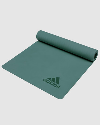 adidas Green All boxing Premium Exercise Mat Green - Size One Size at The Iconic
