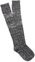 Shimera Twisted Yarn Over the Knee Socks