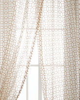 "Softline Home Fashions Each 53""W x 108""L Palazzo Sheer"