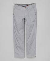 Micros Light Gray Thrill Pants - Toddler & Boys