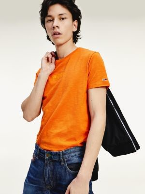 Tommy Hilfiger Slim Fit Organic Cotton T-Shirt