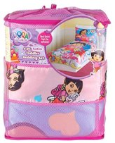 Dora the Explorer 4 Piece Satin Toddler Bedding Set