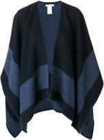 Dondup striped cape