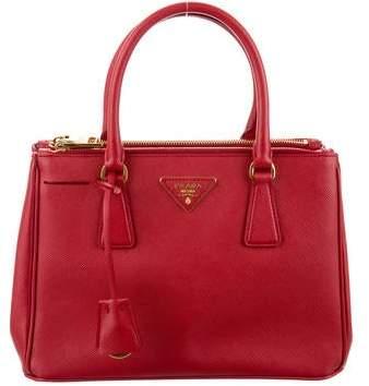 161e0bdc0b5f Prada Saffiano Lux Double-zip Tote Bag - ShopStyle