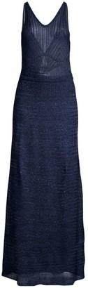 M Missoni Lurex Sleeveless Gown