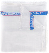 Faliero Sarti constrast stripe scarf - women - Cotton - One Size