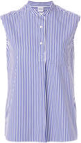 Aspesi striped sleeveless shirt