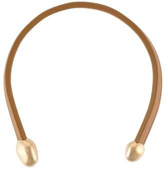 Bottega Veneta Open Necklace