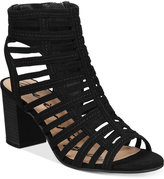 American Rag Sanchie Block-Heel Sandals, Only at Macy's Women's Shoes