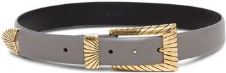 Alberta Ferretti Belt With Golden Buckle