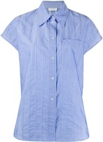 Sandro Paris oversized striped shirt