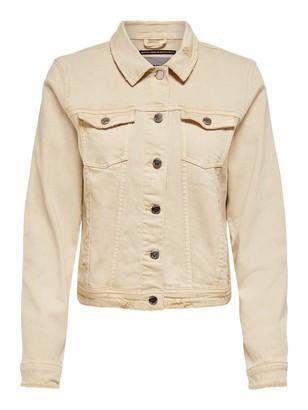 Only Women's Onltia DNM Jacket Bb Box Crfcolour Denim