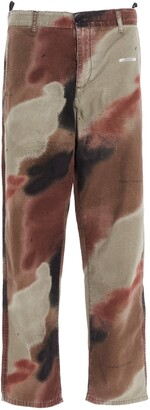 Off-White Camouflage Arrow Stencil Trousers