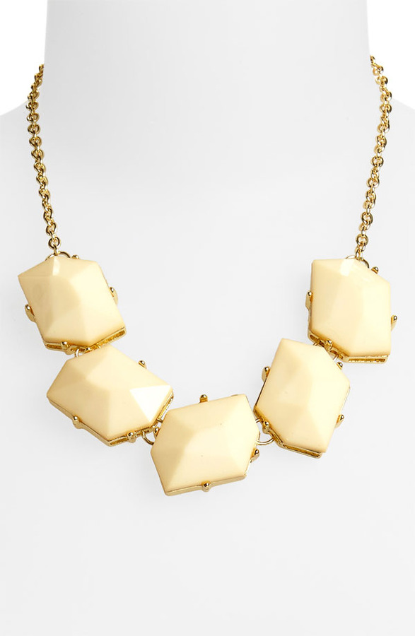 Stephan & Co Five Stone Necklace