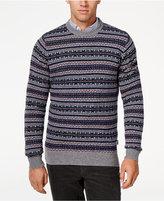 Barbour Men's Harvard Fair Isle Crew-Neck Sweater
