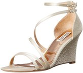 Badgley Mischka Women's Carnation Wedge Sandal