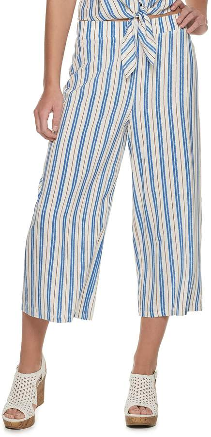 Candies Juniors' Candie's Pull On Patterned Capri Pants