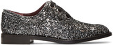 Marc Jacobs Silver Glitter Helena Oxfords