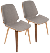 Lumisource Serena Dining Chairs (Set of 2)