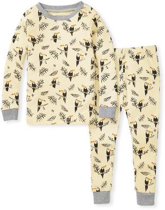 Burt's Bees Toucan Jungle Snug Fit Organic Toddler Pajamas