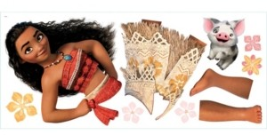 York Wall Coverings Disney Moana Peel and Stick Giant Wall Decals