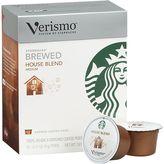 Starbucks Verismo® House Blend Coffee Pods. 12 .31 oz. pods