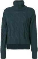 MM6 MAISON MARGIELA cable knit jumper