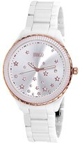 Jivago Women's JV2412 Sky Analog Display Swiss Quartz White Watch