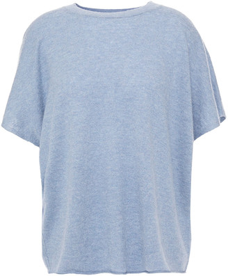 Vince Cashmere And Linen-blend Top