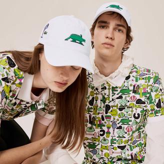 Lacoste Unisex x Jeremyville Design Cotton Cap