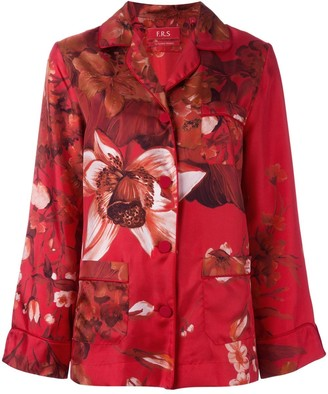 F.R.S For Restless Sleepers floral print pyjama blouse