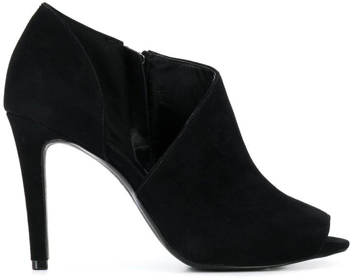 6e8d16ab11c peep-toe ankle boots