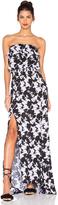 Karina Grimaldi Jaffa Print Maxi Dress