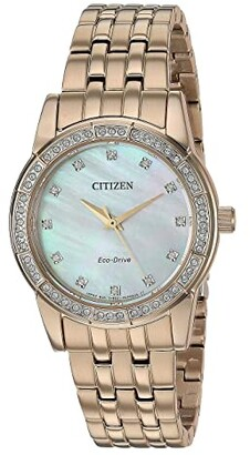 Citizen Silhouette Crystal EM0773-54D (Rose Gold Tone) Watches