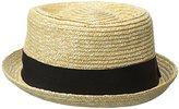 Kangol Men's Wheat Braid Pork Pie Hat
