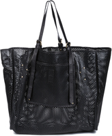 JEROME DREYFUSS Pat Perforated Tote Bag