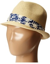 San Diego Hat Company Kids - PBK3208 Fedora w/ Palm Tree Band Caps