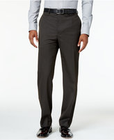 Sean John Men's Classic-Fit Brown Stripe Suit Pants