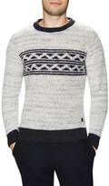 Scotch & Soda Intarsia Crewneck Sweater