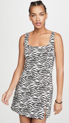 re:named apparel Re:Named Zebra Mini Dress