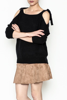 Alythea Tie Shoulder Sweater