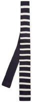 Dunhill Striped silk-knit tie