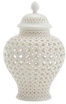 Twos Company Carthage Medium Porcelain Lantern
