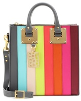 Sophie Hulme Albion Square Rainbow leather shoulder bag